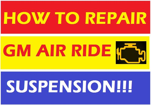 2007 - 2014 Autoride Air Suspension System Diagnosis and