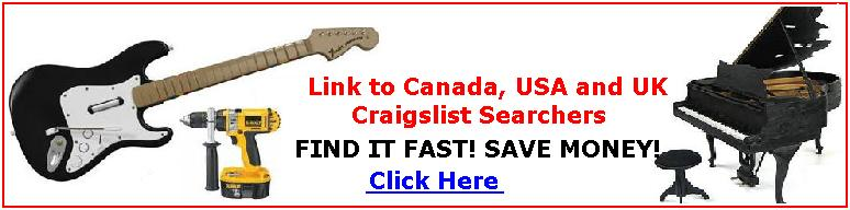 Click Here for Canada USA UK Craigslist Searcher