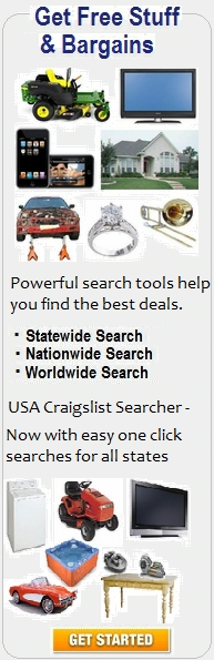 USA Craigslist Searcher - Get Free Stuff and Bargains