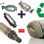 Cash for Catalytic Converters & Oxygen Sensors - Click Here