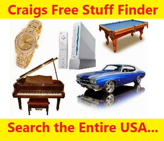Find Free Stuff on Craigslist All Over the USA