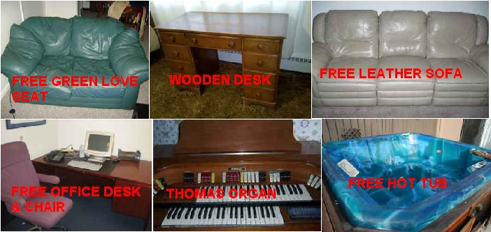 Free Furniture On Craigslist