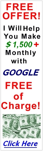 Make $1,500+ Monthly with Google Free of Charge