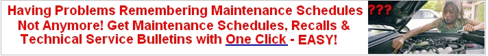 Description: Click Here to Find Any Maintenance Schedules, Recalls or Technical Service Bulletin - Easy One Click Search