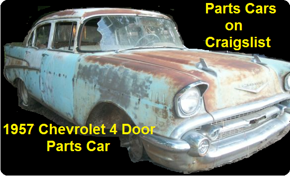 Click Here for Cheap Wrecks, Part Cars and Project Cars