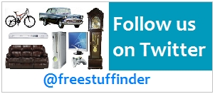 Follow Me on Twitter - FreeStuffinder