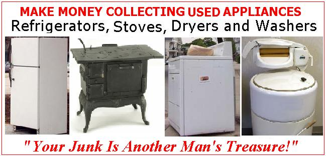 Start Your Own Work-at-Home Business Collecting, Repairing and Selling Appliances